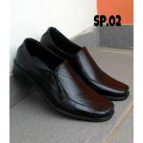 Harga Crocodile Sepatu Pantofel Pria Kulit By Crocodille Hitam Branded