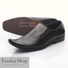 Sepatu Pantofel Pria Kulit Hand Made- Sepatu Kantor Model Kickers Pakalolo Branded BIBO02 HT