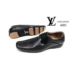 Sepatu Pantofel Pria Lv Bally Formal Kulit Asli Kerja Kantor Hitam Tal - 7A3B9C