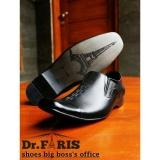 Jual Sepatu Pantopel Formal Pantofel Pria Kulit Asli Dr Faris 1621 Black Dr Faris Di Jawa Barat