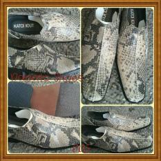 Sepatu Pantopel Pria Kulit Ular / Nabato Shoes - Bcd7de