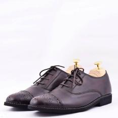 Promo Sepatu Pantopel Formal Pria Kulit Asli Azcost Oxford Redbush Jawa Barat