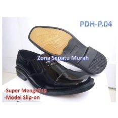 Sepatu Pdh Kilap Seri Pdp-04 Standar Polri Terbaru Harga Super murah