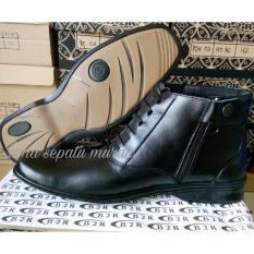 Sepatu Pdh Kulit Asli Seri 03 Dof Standar Tni Polri Kedinasan Best Quality Murah