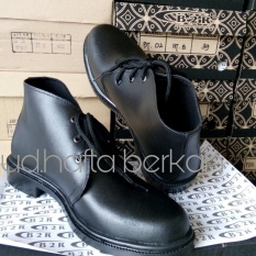 Sepatu Pdh Kulit Asli Seri BT-03 Dof | Standar Tni-Polri-Security Dll | 100% Kulit Asli