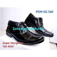 Sepatu Pdh Mengkilap Seri 02.Tali Standar POLRI  Harga Super Murah  Best quality