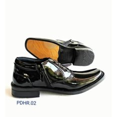 Sepatu Pdh Mengkilap Seri R-02 Merk D24 Standar Polri  Best Seller  Super Murah
