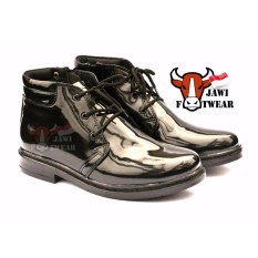 Harga Sepatu Pdh Tali Resleting Tr 04 Pria Tni Polri Security Jawi Footwear Online