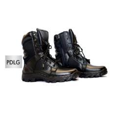 Sepatu PDL PDLG Standart TNI Bahan Sepatu Kulit Asli / Sepatu Militer / Sepatu Boots Safety Polisi Polri Satpol PP Satpam Security Kulit Asli / Sepatu Casual Pria Cowok Boots