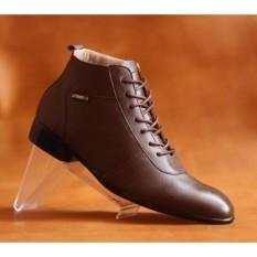 Sepatu pentopel pria oxford boots cevany - sepatu kulit asli MAX