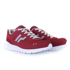 Sepatu Piero Casual P20430	JOGGER CLAY - RED GREY WHITE
