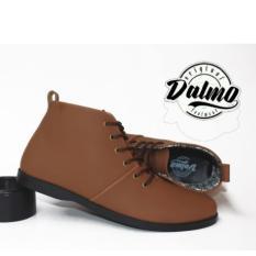 Toko Sepatu Pria Boots Dalmo Brodo Brown Di Jawa Barat