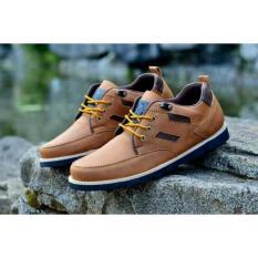 Jual Beli Sepatu Pria Boots Moofeat Low Ring Leather