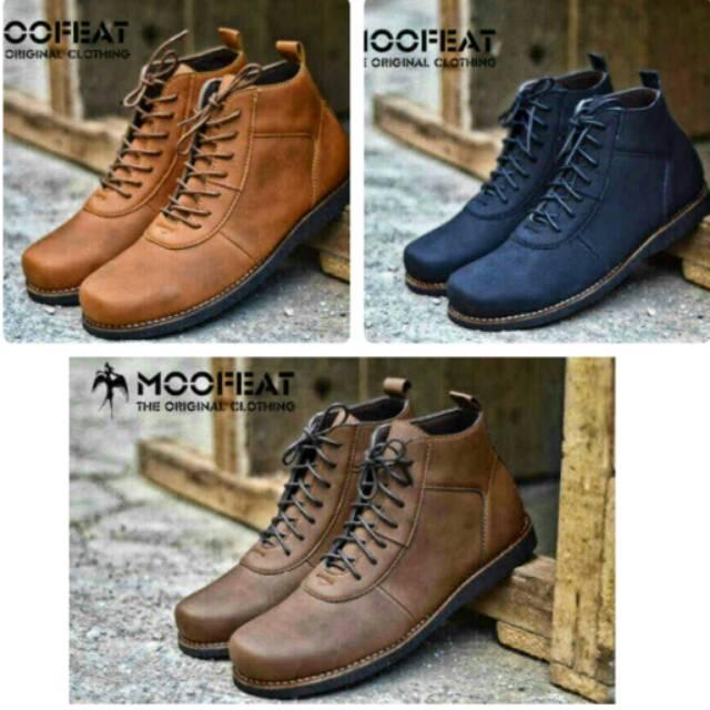 Sepatu Pria Casual Boots Moofeat Brodo Original Clothing Bandung 55af54dc08