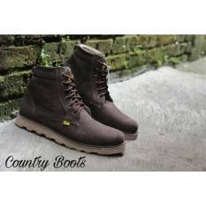 Sepatu Pria Country Boots B. Gundul DTR