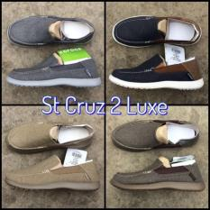 Sepatu Pria / Cowok Crocs Santa Cruz 2 - R4yuzk