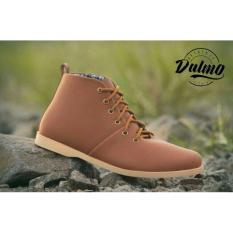 Harga Sepatu Pria Dalmo Brodo Brown Yang Murah Dan Bagus