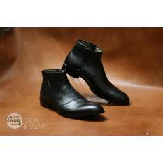 Toko Jual Sepatu Pria Formal Pantofel Fox Original Chevany Black