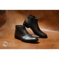 Jual Sepatu Pria Formal Pantofel Fox Original Chevany Brown Banten