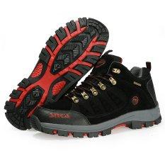 Harga Sepatu Pria Hiking Waterproof Snta Outdoor 470 06 Series Asli