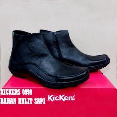 Kickers Zipper Sepatu Kickers Kulit Asli Murah Sepatu Pria Boots Formal Sneakers