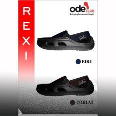 Sepatu Pria Merk Ode Model Rexi Simple Ringan Kuat Nyaman