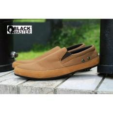 sepatu pria original blackmaster casual  ( sepatu santai, sepatu slop, sepatu slip on, sepatu gaul, sepatu murah , sepatu handmade) manic