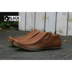 sepatu pria original blackmaster ferari pantofel casual formal ( sepatu santai, sepatu slop, sepatu slip on, sepatu gaul, sepatu murah , sepatu handmade) manic