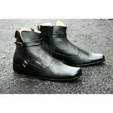 Spesifikasi Sepatu Pria Original Pantofel Kulit Asli Cevany Paccuan Black Baru
