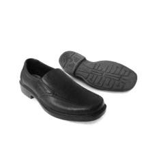 Sepatu Pria Pantofel Hak Formal Karet Kerja Sekolah SlipOn Murah ATT AB380