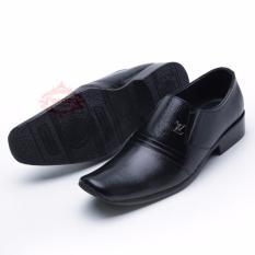 Sepatu Pria Pantofel/ Sepatu Kulit Asli Formal Hand Made Model Masa Kini Best Product 073HT