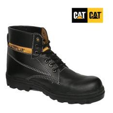Sepatu pria safety shoes caterpillar bromo hitam licin tinggi , sepatu caterpillar, caterpilar bromo licin hitam, sepatu gunung
