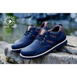 Review Sepatu Pria Semi Formal Low Boots Orginal Moofeat Ring Black Banten