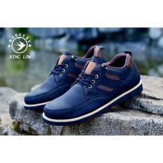 Jual Sepatu Pria Semi Formal Low Boots Orginal Moofeat Ring Black Online Di Banten