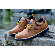 Harga Sepatu Pria Semi Formal Low Boots Orginal Moofeat Ring Tan Paling Murah
