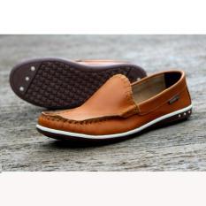 Jual Sepatu Pria Slip On Casual Sepatu Loafer Sepatu Cevany Original Mizuxi Tan Grosir
