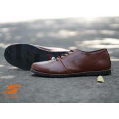 Harga Sepatu Pria Slip On Sepatu Santai Sepatu D Island Original D Island Brodo Low Coklat Fullset Murah