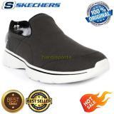 Promo Sepatu Pria Sneaker Casual Skechers Go Walk 4 Magnificent 54153 Bkgy Di Banten