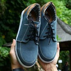Sepatu Pria Sneakers Low High Casual Remaja dan Dewasa - JACK FOOTWEAR ANKONA - Biru Tua