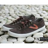 Beli Sepatu Pria Sneakers Low High Kasual Modern Black Master Mesi Hitam Coklat Marun Jawa Barat
