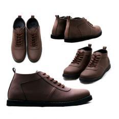Sepatu Pria TERMURAH Sepatu Boot Pria Custom Original Bandung Caterpillar Safety Shoes Collection Terbaru ORIGINAL HANDMADE