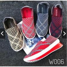 Review Tentang Sepatu Rajut Anyaman Wanita Lulia Cynthia Kiddo Wedges 006 New