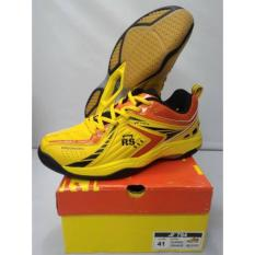 Spek Sepatu Badminton Rs Jf 794 Yellow Orange Original Rs