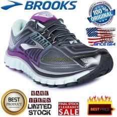Sepatu Wanita Running Fitness Brooks Glycerin 13 120197-1B070 - Anthracite Icegreen