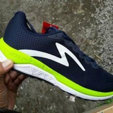 Sepatu Running Specs Dual Enduro Dark Navy Original Cocok Lari Olahraga Gym Fitness Sekolah