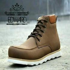 Sepatu Safety Boot Casual Santai Merk Edward ORIGINAL
