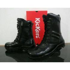 SEPATU SAFETY BOOT Kickers PDL Polri TNI Boots