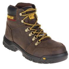 Sepatu safety Boots caterpillar sepatu Pria Safety Caterpillar sepatu hiking pria suede brown caterpillar sepatu safety pria caterpillar sepatu gunung caterpillar  Sepatu Caterpillar Outline ST Seal Brown Original