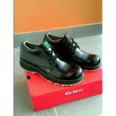 Jual Sepatu Safety Boots Kerja Pria Black Universal Asli