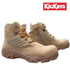 Sepatu pria kickers safety Boots kickers porsh sepatu Safety pria kickers sepatu hiking pria kickers sepatu gunung kickers porsh cream